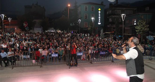 Bozkır Kültür ve  Sanat Festivali başladı