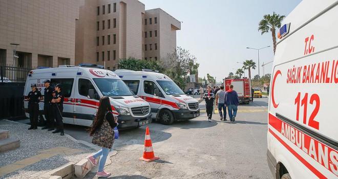 İzmir Adliyesindeki gaz sızıntısından bir kişi hayatını kaybetti
