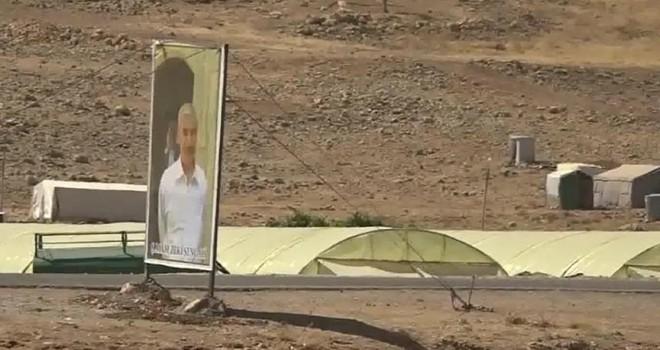 PKK'ya bağlı YBŞ'li teröristler Sincar'da görüntülendi