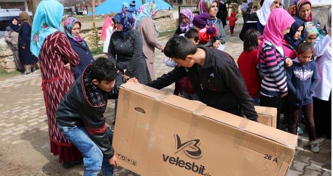Beyşehir Belediyesinden 13 çocuğa bisiklet