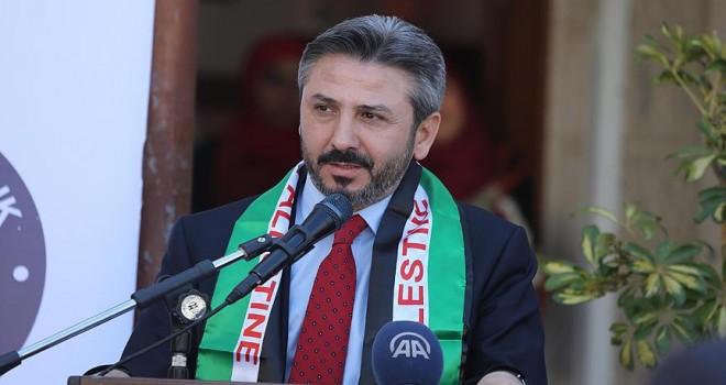 Başkanvekili Aydın: Filistin'in yanında olacağız